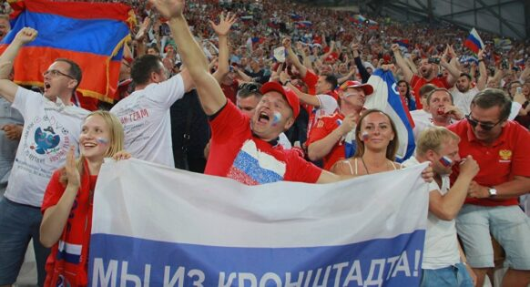 supporter football russie