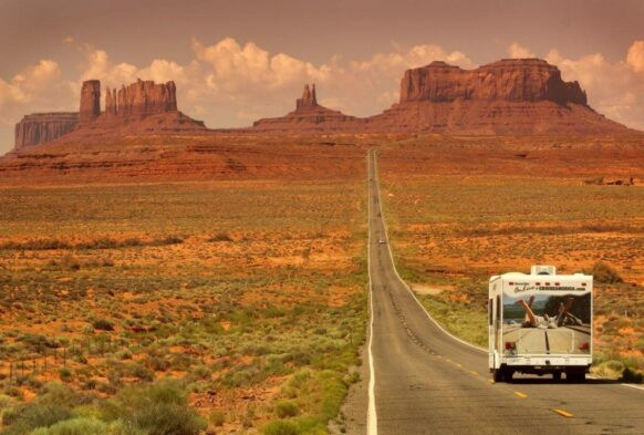 road trip usa camping car