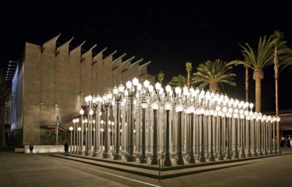 LACMA Urban Lights Installation