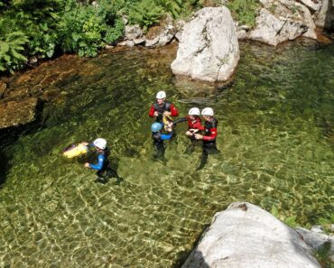 canyoning en Ardeche