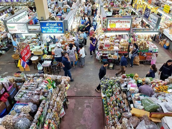 Marché couvert Warorot (Kad Luang)